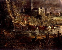 Salisbury from the meadows - Constable