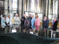 Inside Salisbury Cathedral
