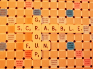 The Scrabble Group play for fun